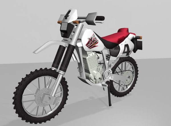 maya scrambler bike