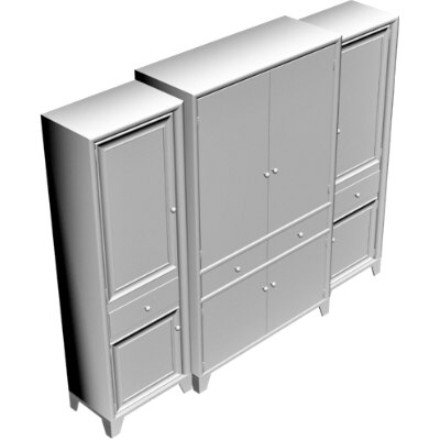 furniture 3d obj
