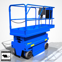 scissor lift 3d 3ds