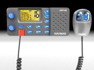 navman radio 3d model