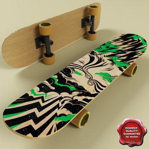 3d skate board v1
