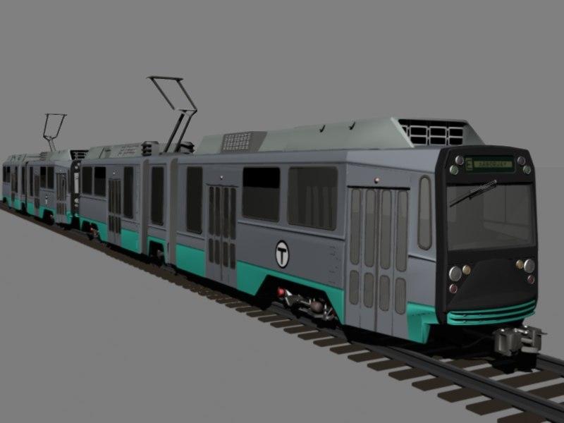 3d model t subway