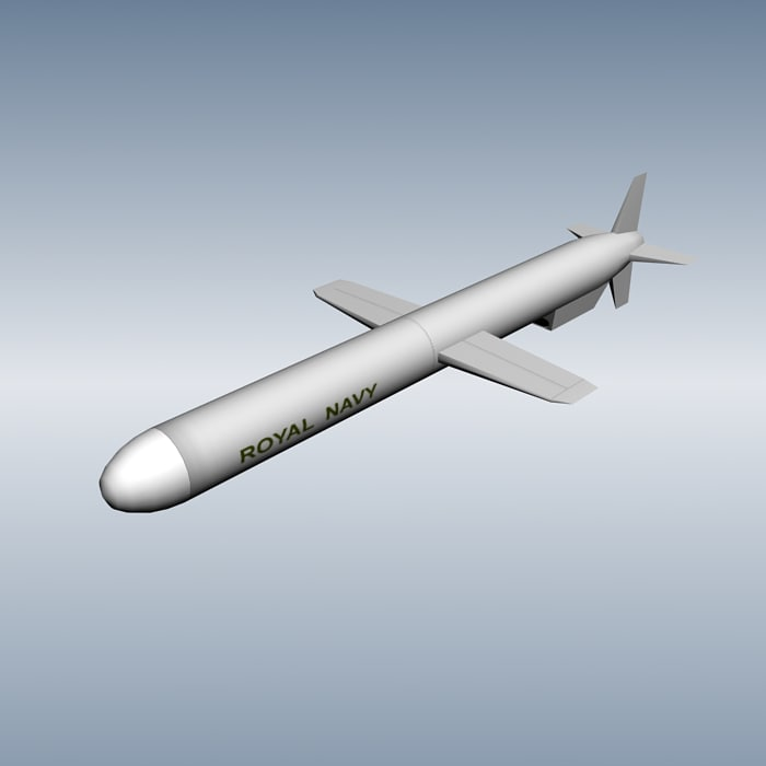 3ds max missile tomahawk
