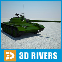 Tiran 5 tank by 3DRivers
