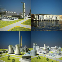 power stations 3d 3ds