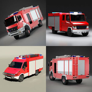 maya firetruck truck