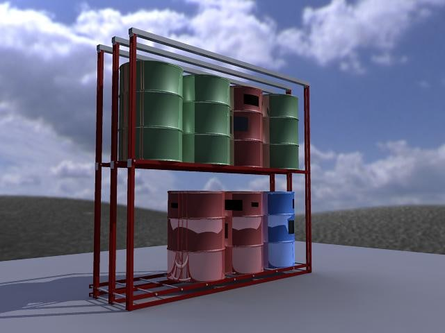 cabinet drum 3ds