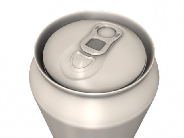 soda drink 3d model