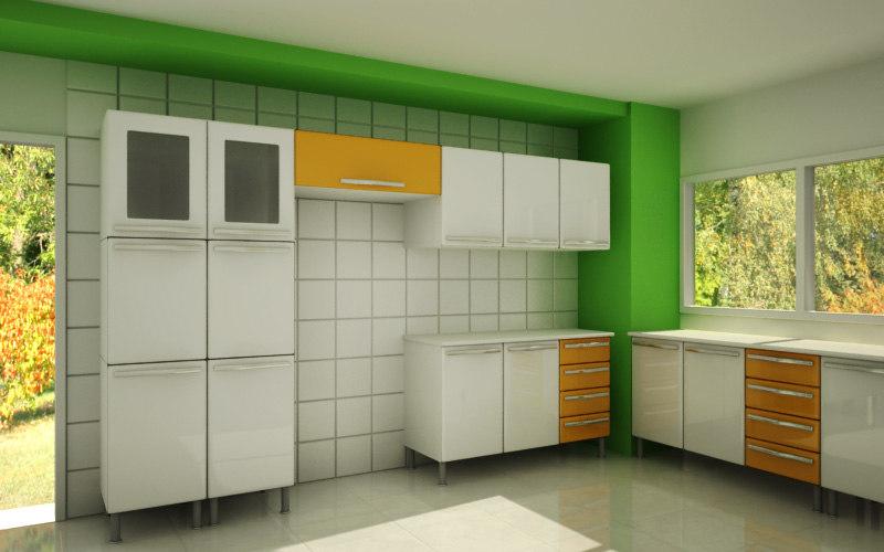 3dsmax steel cupboards