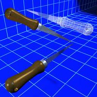 drywall keyhole saw tools 3d obj
