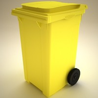 garbage container 3d model