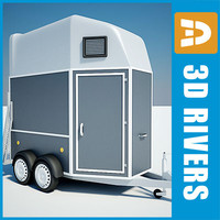 Horse trailer 02 by 3DRivers