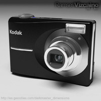 camera kodak c913 cam 3d model