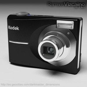camera kodak c913 cam 3d model