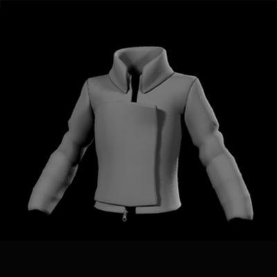 3d styled jacket