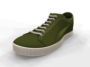 puma sports shoe 3d ma