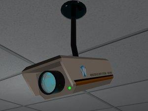 security camera polys 3d max