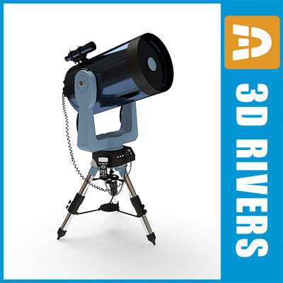 telescope observatory 3dr091 3ds