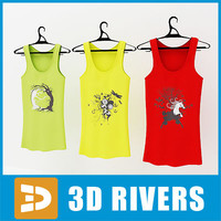 Tank top set by 3DRivers