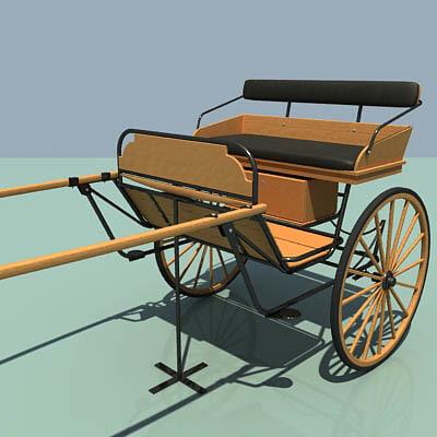 max wooden cart