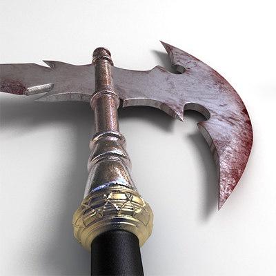 maya albion hand battle axe