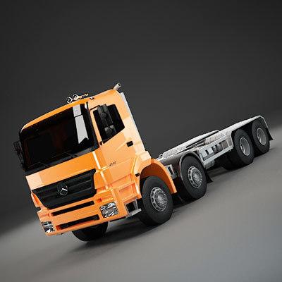 3d max semi truck semitruck