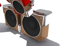 3d model audio system