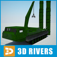 3d anthey-2500 rocket launcher