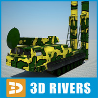 c300b-gladiator rocket launcher 3d model