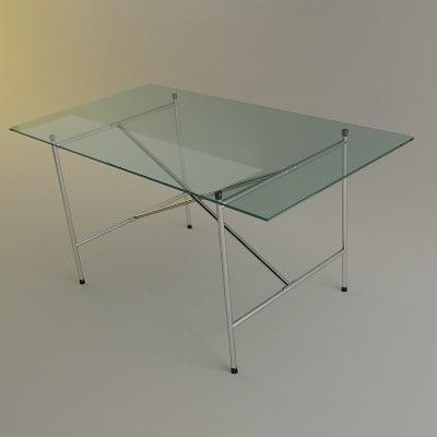 3ds max eiermann table desk