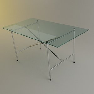 3ds max eiermann table desk