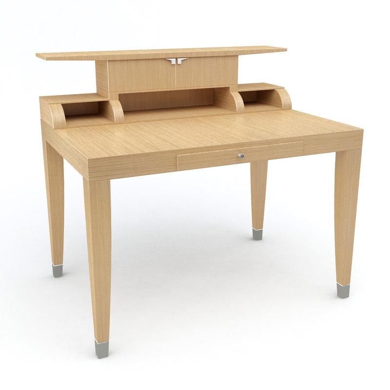 3d epi desk giorgetti model
