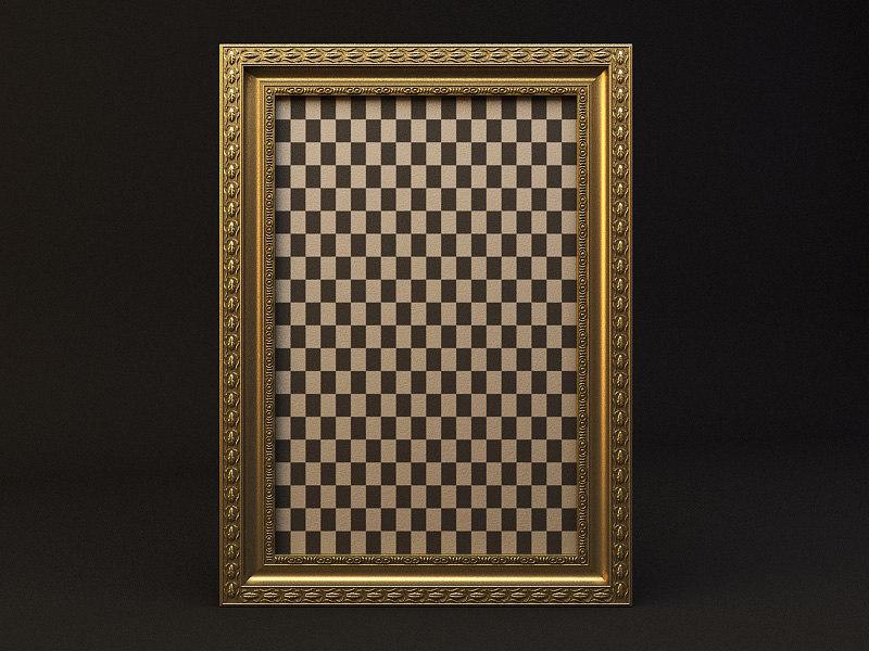 3d model frame pictures