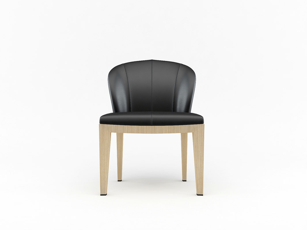 3d model normal chair giorgetti