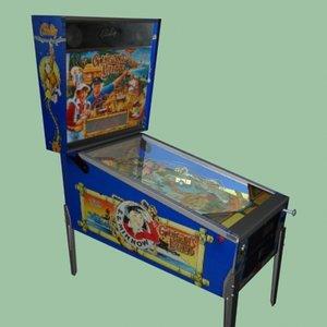 3d gilligans island pinball machine
