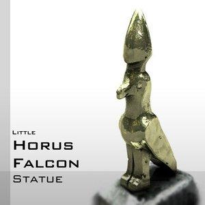 statue horus falcon 3d model