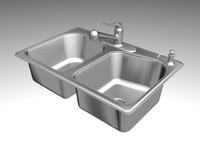 KOHLER SINK STACCATO K3369 3D MODEL