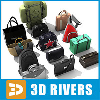 Bags collection by 3DRivers