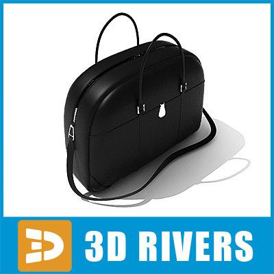 classic bag 3d max
