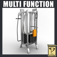 Multi Fitness Machine
