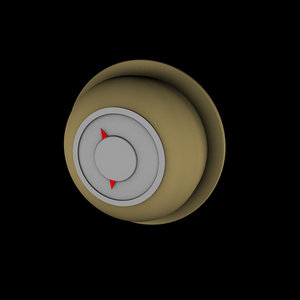 3d model thermostat