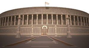 3dsmax parliament india