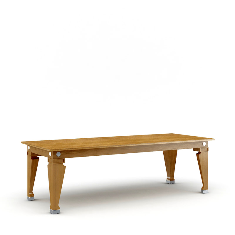 3d epi table giorgetti model