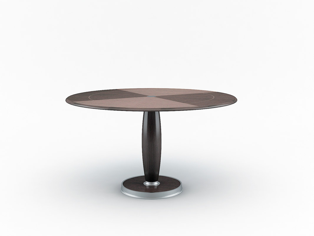 3d isa table giorgetti