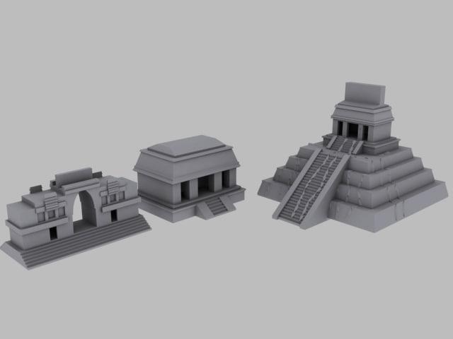 pyramid 3d model
