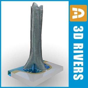 3d schumacher world champion tower