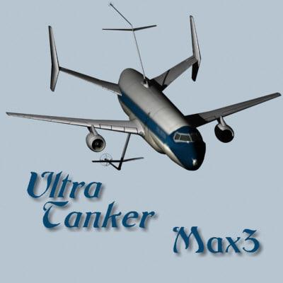 concept ultra tanker 3d model