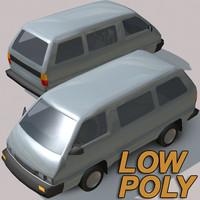 3d model city van