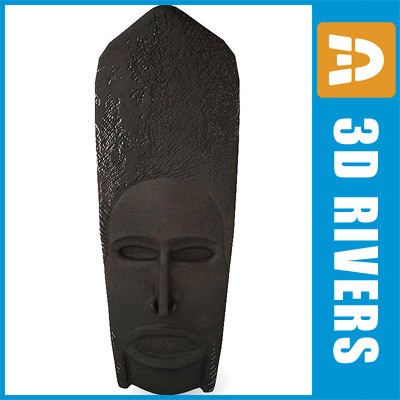 african mask africa max