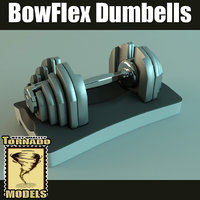 3ds bowflex dumbbell scene